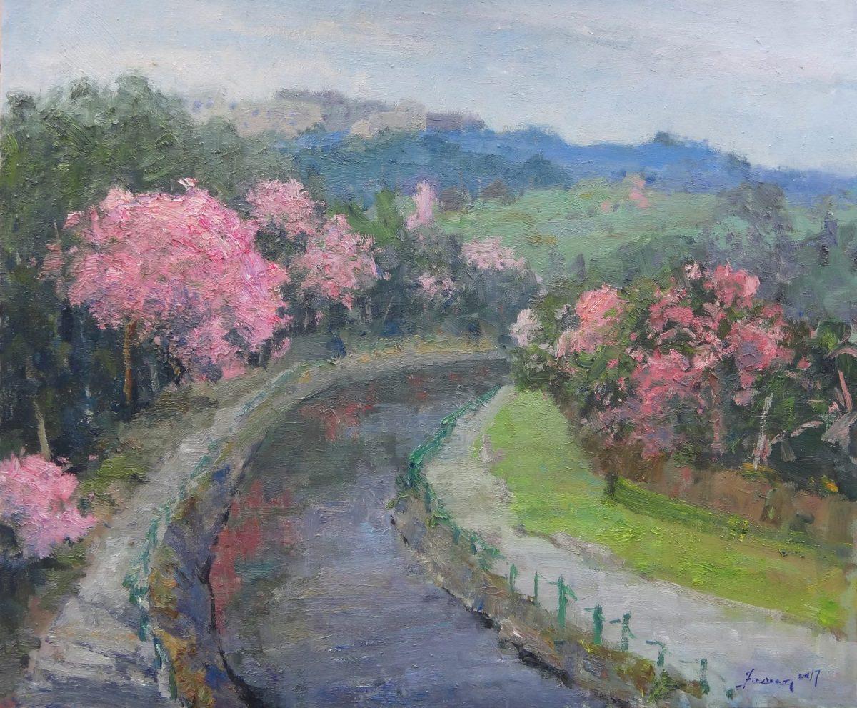 Emerson Wang, Pink Bella, 2017