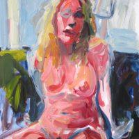 Lauran van Oers, Fauvist Nude II, 2017