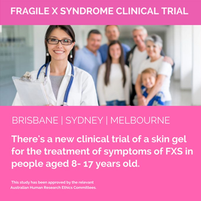 Research - Clinical Trial Fragile X Australia