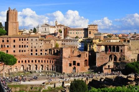 Rzym_Forum Trajana 01_Targ Trajana