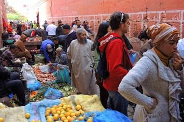 Uliczki Marrakeszu Maroko-017