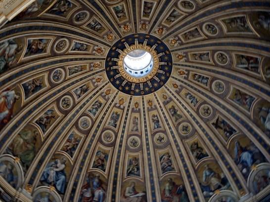 Rzym_balkon w Kopule Bazyliki św. Piotra w Watykanie 005