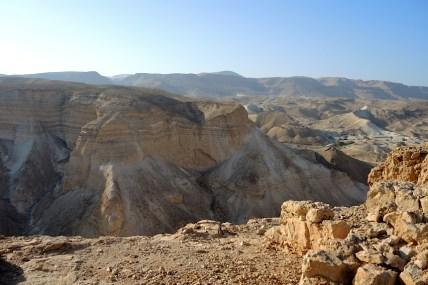 Izrael-zwiedzanie twierdzy Masada 001