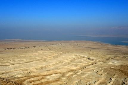 Izrael-zwiedzanie twierdzy Masada 013