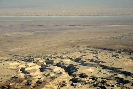 Izrael-zwiedzanie twierdzy Masada 015