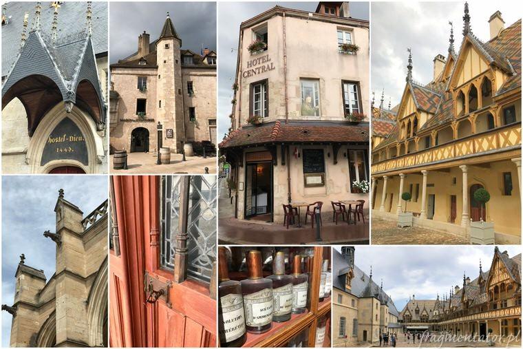 Beaune Francja malownicze francuskie miasteczka zwiedzanie atrakcje Francji