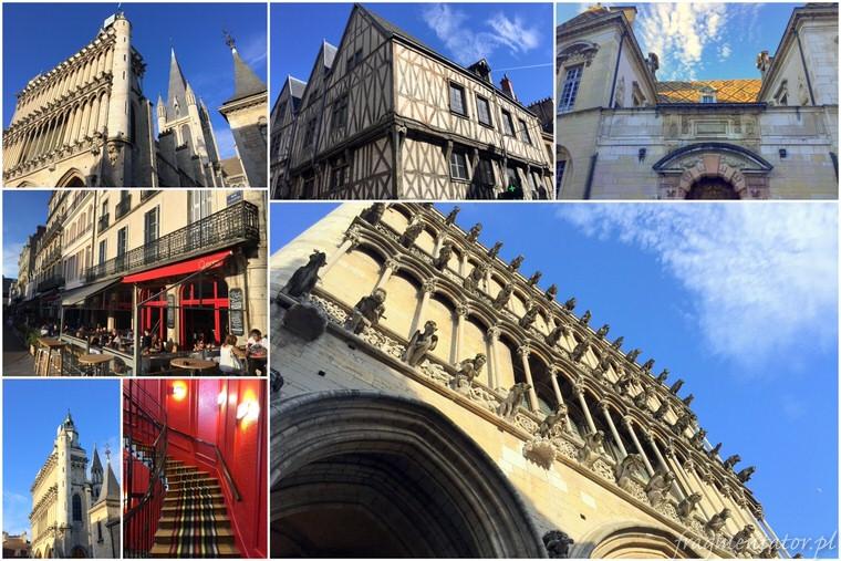 Dijon Francja malownicze francuskie miasteczka zwiedzanie atrakcje Francji
