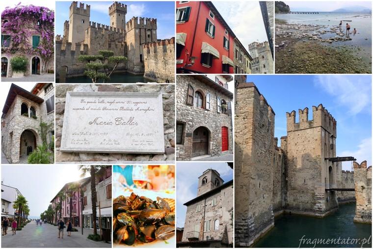 Sirmione Włochy malownicze włoskie miasteczka atrakcje zwiedzanie Włoch