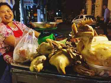 Wietnam jedzenie na ulicach Hanoi-034