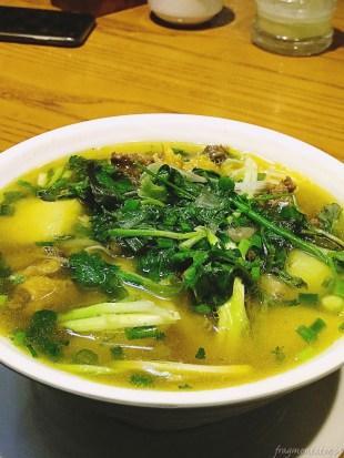 Wietnam jedzenie na ulicach Hanoi 052