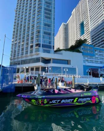wyścigowa łódź motorowa atrakcje Miami Floryda USA