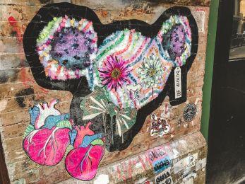 zwiedzamy Nowy Jork street art NYC 004