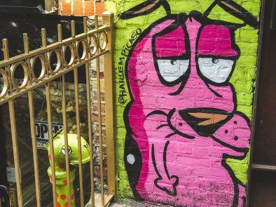 zwiedzamy Nowy Jork street art NYC 009