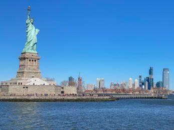 014 Nowy Jork panorama z promu