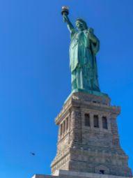 026 zwiedzanie Nowego Jorku-Statua Wolności na Liberty Island