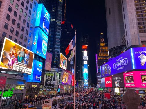129 Nowy Jork -Times Square