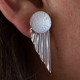 Fan earring-15