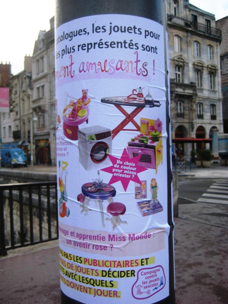 jouets anti sexistes