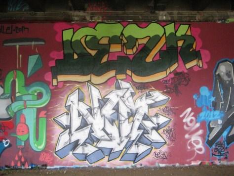 BABA JAM - graffiti - Besancon - nov 2012 - Desk - Nozer