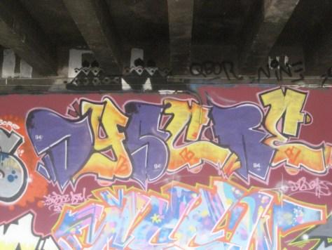 BABA JAM - graffiti - Besancon - nov 2012 Dyscre