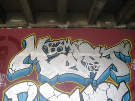 BABA JAM - graffiti - Besancon - nov 2012 Mest