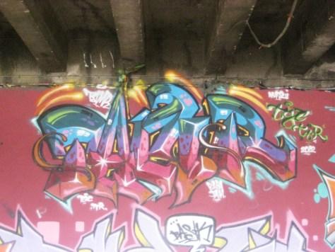 BABA JAM - graffiti - Besancon - nov 2012 Tamr
