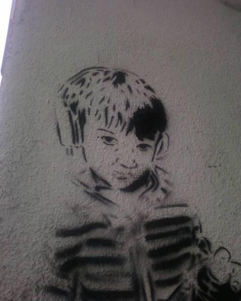 Children stencil