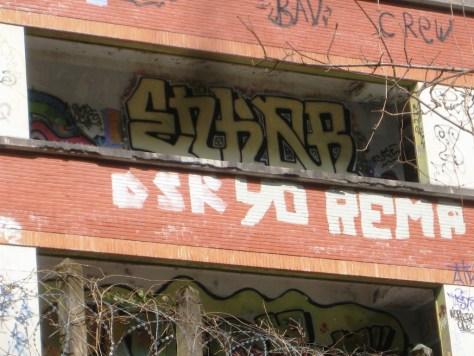 mars 2013 - besancon Enkor - graffiti - rhodia