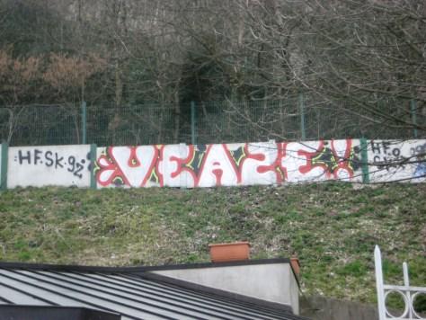mars 2013 - besancon Veaze - graffiti