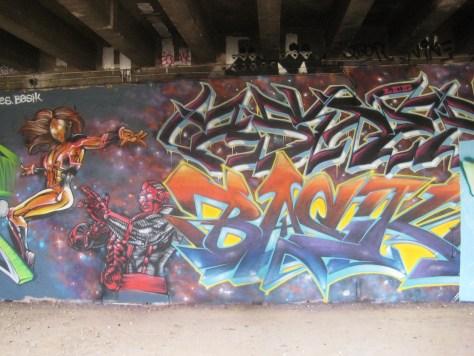 fresque-conflit galactic - LCG-IZI - graffiti - besancon