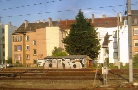 DKS, 7 crew, Vomito - graffiti - Alsace 2013 (1)