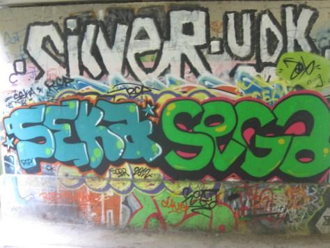graffiti Rennes Aout 2012 seka, sega, silver