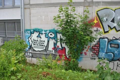 Freiburg graffiti 08.06.12 UIR CRUE