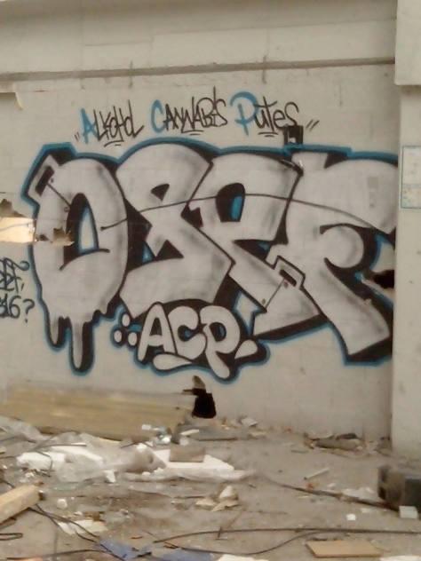 Osef ACP - strasbourg - graffiti