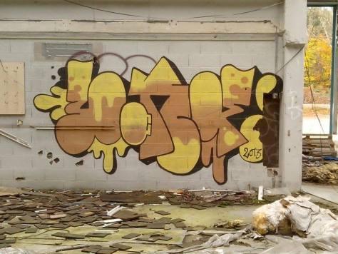 Bond, graffiti, strasbourg