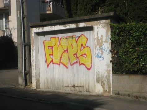 FLIPS - graffiti - besancon, 04.2014