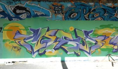 Mesh, Wyker, LCG.IZI - Besancon - Graffiti - 04.2014  (4)