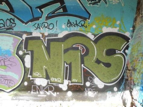 NRS, ENKR - graffiti - besancon, avril 2014 (2)