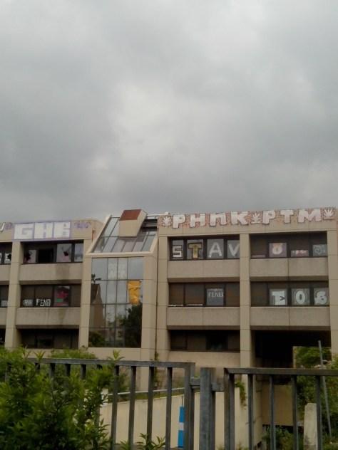 GHB, PHNK, PTM, STAV, EOS, Fenek - graffiti - strasbourg