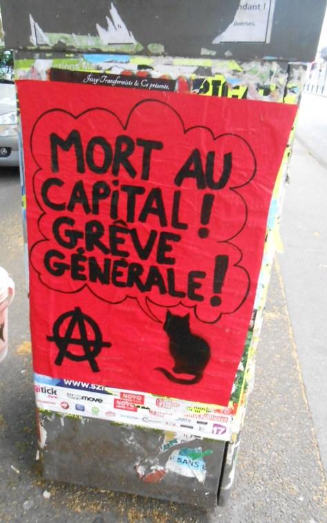 besancon, juin 2014 Mort au capital - greve generale