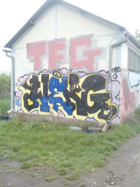 TFG, Weng - graffiti - Alsace