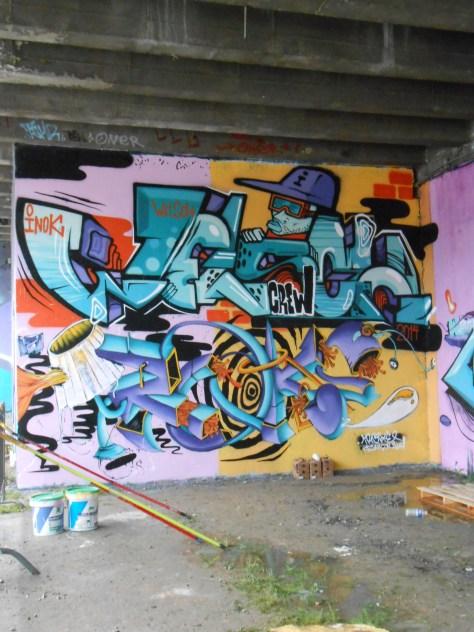 Jam graffiti 11 et 12 octobre 2014 besancon