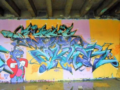 besancon, jam graffiti octobre 2014 WASK, EKLOR