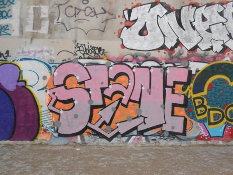 Stane - graffiti besancon mars 2015