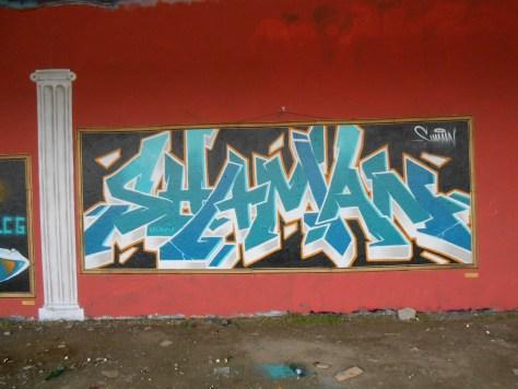 SHAMAN - graffiti 05.2015 besancon LCG
