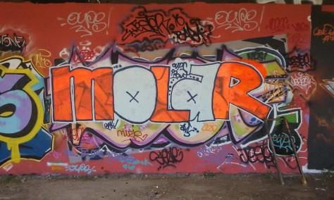 Molar graffiti besancon 2015