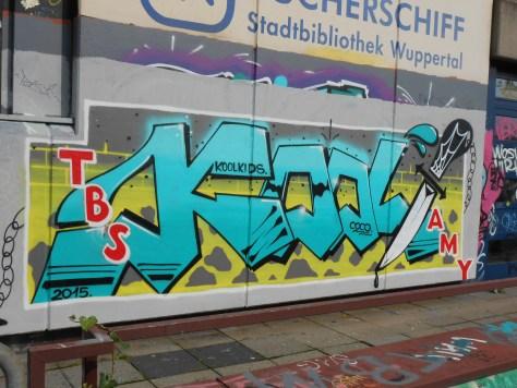 haus der jugend wupperal elberfeld - graffiti sept 2015 KoolKids (1)