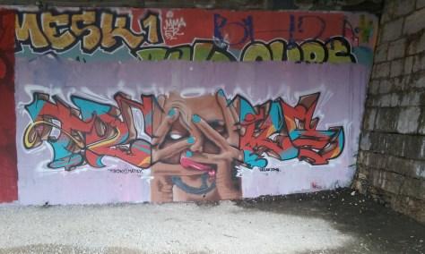 troke, matey - graffiti - besancon 2016
