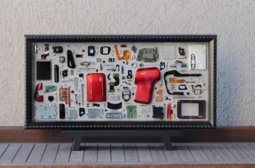 "Sanyo Zacti Camcorder Red 10x20"" - $275"