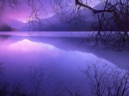Purple Haze over Lake Crescent